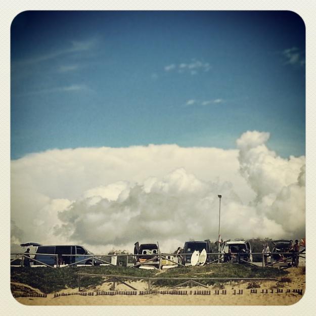 Renee de Villeneuve - 'El Palmar con nubes' - 2º Premio